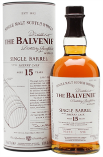 The Balvenie Scotch Single Malt 15 Year Sherry Cask 750ml